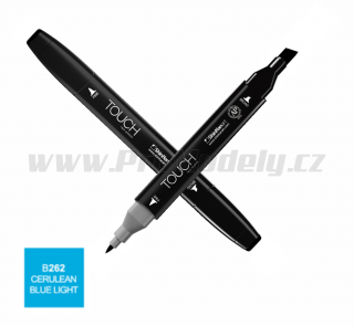 B262 Cerulean blue light TOUCH Twin Marker
