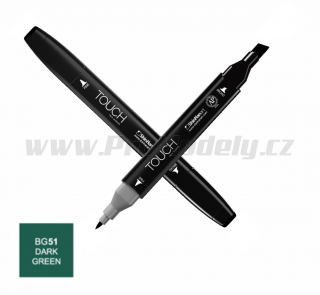 BG51 Dark green TOUCH Twin Marker