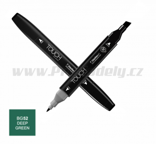 BG52 Deep green TOUCH Twin Marker