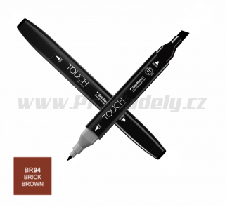 BR94 Brick brown TOUCH Twin Marker