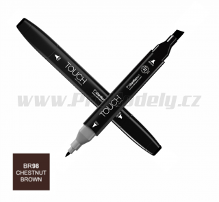 BR98 Chestnut brown TOUCH Twin Marker