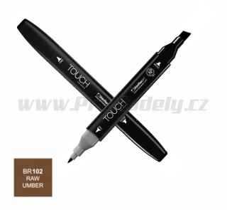 BR102 Raw umber TOUCH Twin Marker