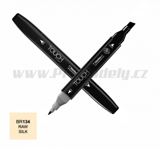 BR134 Raw silk TOUCH Twin Marker