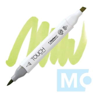GY48 Yellow green TOUCH Twin Brush Marker