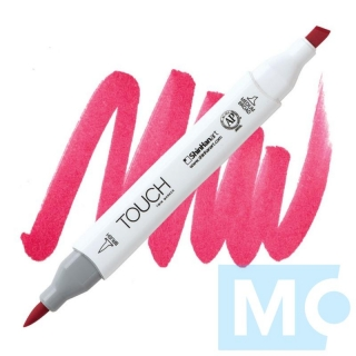 R4 Vivid red TOUCH Twin Brush Marker
