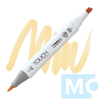 Y36 Cream TOUCH Twin Brush Marker