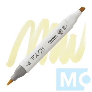 Y37 Pastel yellow TOUCH Twin Brush Marker