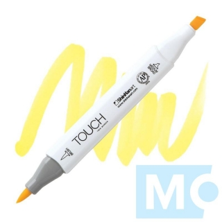 Y38 Pale yellow TOUCH Twin Brush Marker