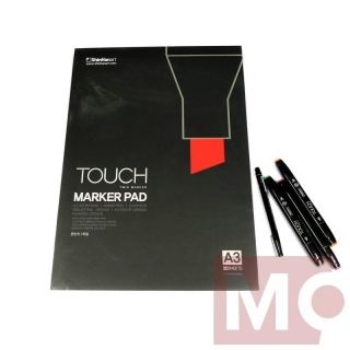 Blok A3 TOUCH Marker Pad, 20 listov