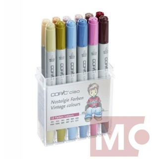 Copic Ciao 12ks, tóny nostalgie