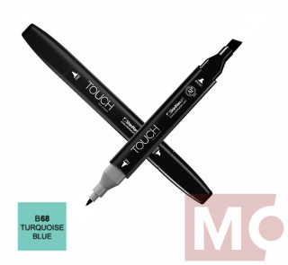 B68 Turquoise blue TOUCH Twin Marker