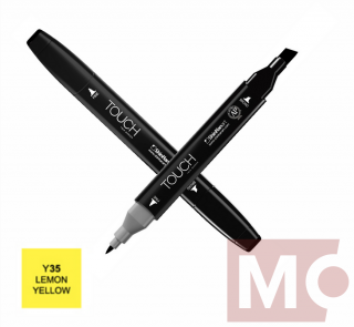 Y35 Lemon yellow TOUCH Twin Marker