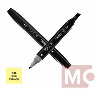 Y38 Pale yellow TOUCH Twin Marker