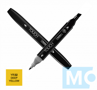 YR32 Deep yellow TOUCH Twin Marker