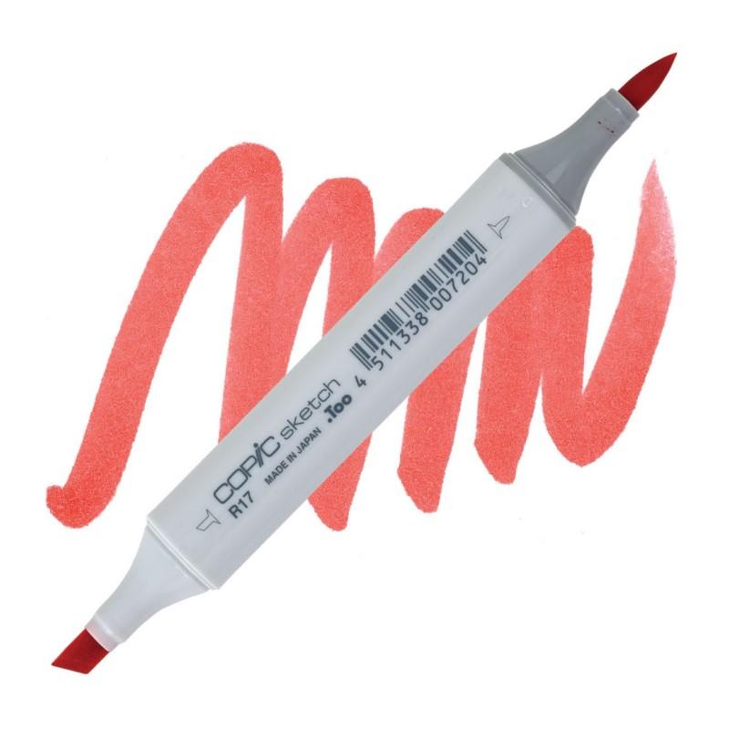 R17 Lipstick orange COPIC Sketch